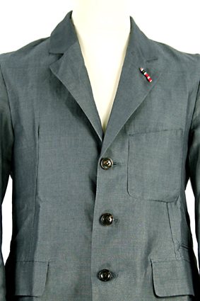 Nigel Cabourn Jacket Business jacket in navy view 2