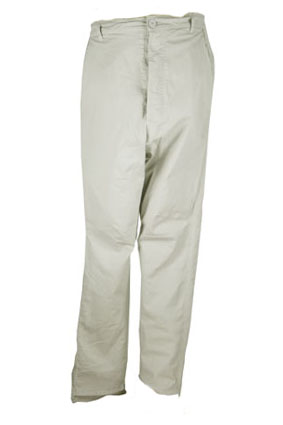 Pal Offner Trousers Grey low drop crotch trousers view 1