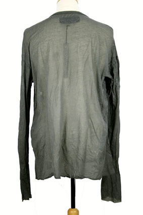 Rundholz T Shirt Long sleeved 'Grey Metallic' t-shirt view 3
