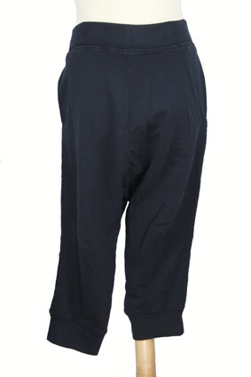Rundholz Trousers Low-crotch, cut-off trousers in Dark Navy view 1