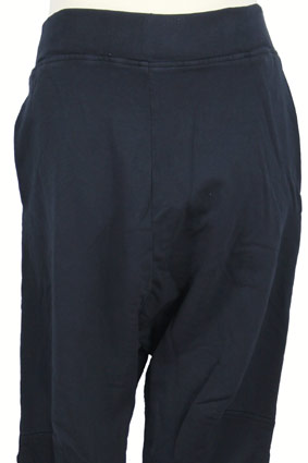 Rundholz Trousers Low-crotch, cut-off trousers in Dark Navy view 2