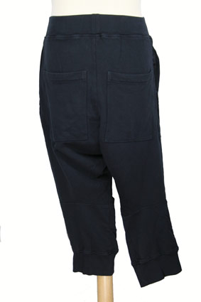 Rundholz Trousers Low-crotch, cut-off trousers in Dark Navy view 3