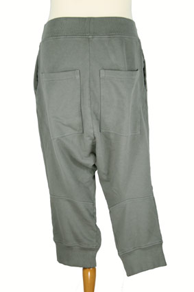 Rundholz Trousers Low-crotch, cut-off trousers in Smoked Grey view 3