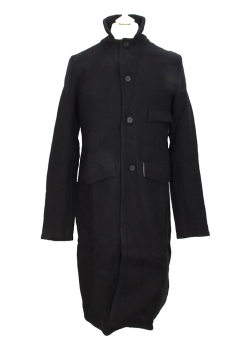Aleksandr Manamis Black Wired Coat