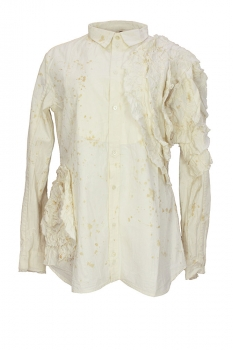 Aleksandr Manamis Off White Shirt