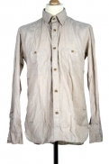 Nigel Cabourn Medical Shirt in light-brown