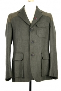 Nigel Cabourn Mallory Jacket dark army linen