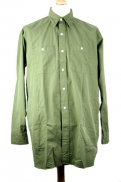 Nigel Cabourn 'Big Shirt with Pockets' in Army colour