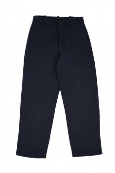 Nigel Cabourn Navy Blue Trousers