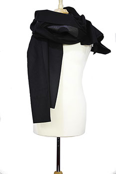 Pal Offner Black Scarf