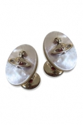 Vivienne Westwood Jewellery Mother of Pearl Cufflinks