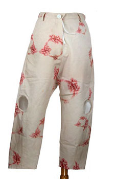 Barbara Bologna Light Peach Trousers
