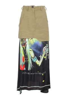 Barbara Bologna Mixed Colours Skirt