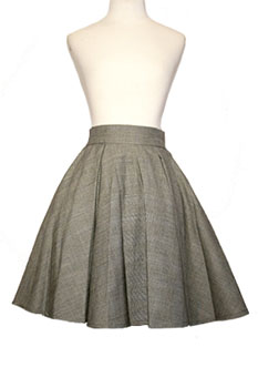 Gail Berry Grey Skirt