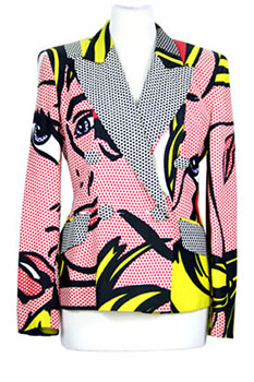 Moschino Cheap and Chic Mixed Colours Jacket