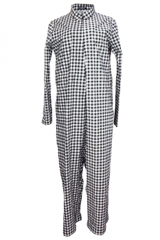 Rundholz Black Check Overall