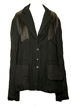 Sandrine Philippe Black Jacket