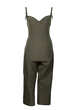 Thierry Mugler Khaki Green Suit