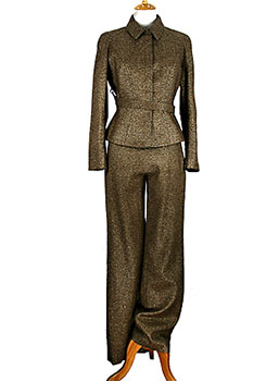 Thierry Mugler Gold Suit