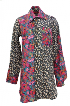 Vivienne Westwood Mixed Print Colours Shirt
