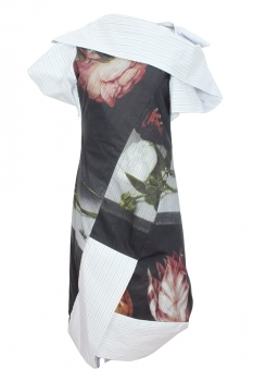 Vivienne Westwood Mixed Print Colours Dress