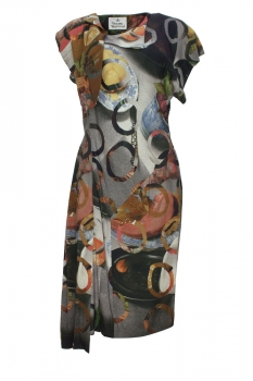 Vivienne Westwood Still Life Print Dress