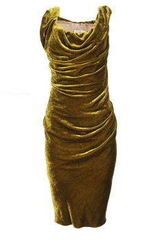 Vivienne Westwood Gold Dress
