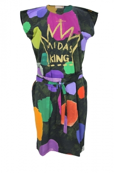 Vivienne Westwood Coloured Dots Print Dress