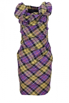 Vivienne Westwood Tartan Mini Ginnie Dress