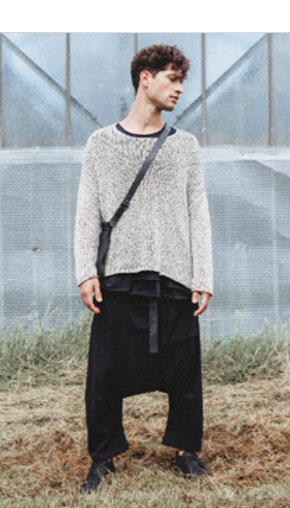 Designer Clothing for Men Nigel Cabourn, Pedaled, Masnada, Pal Offner, Comme des Garcons, David's Road, Rundholz, The Lost Explorer