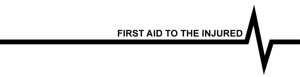 First Aid to the Injured Clothing for Men