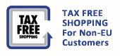 tax free shopping for customers from outside the European Union